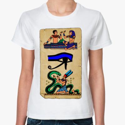 Классическая футболка Папирус