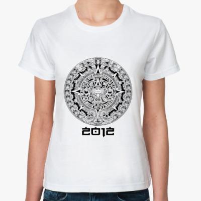 Классическая футболка  Каледарь Майя