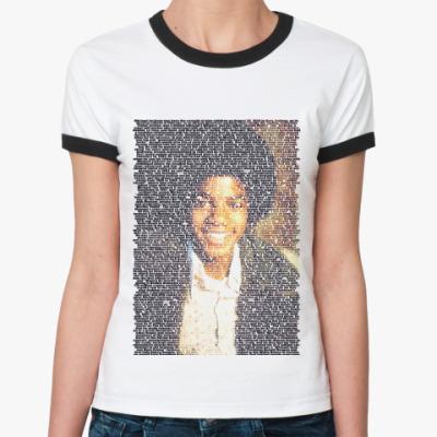 Женская футболка Ringer-T Jackson4