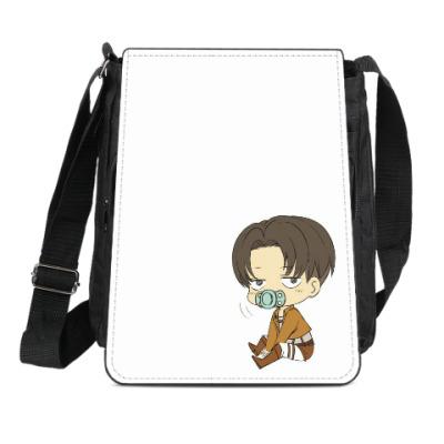 Сумка-планшет Shingeki no Kyojin Леви Levi