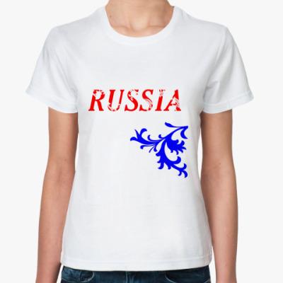 Классическая футболка Российская Федерация