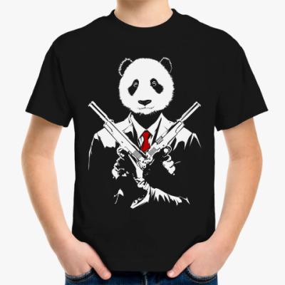 Детская футболка Панда Киллер
