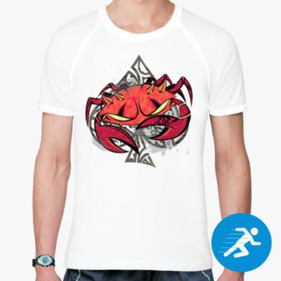 Спортивная футболка Краб Мэрино