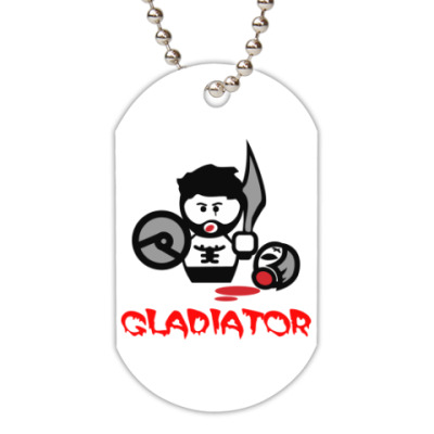 Жетон dog-tag Гладиатор