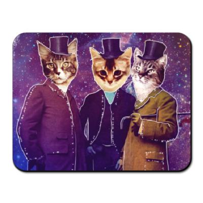 Коврик для мыши Три космических кота