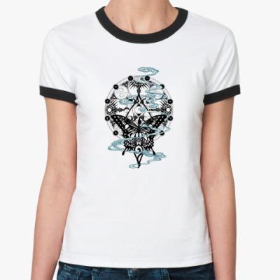 Женская футболка Ringer-T HOLIC