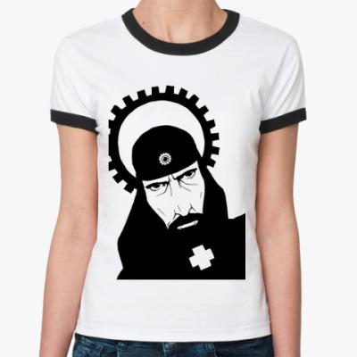 Женская футболка Ringer-T  St. Fras