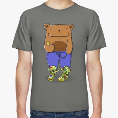 Футболка Прикольный Медведь