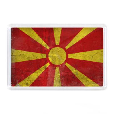 Магнит Флаг Македонии