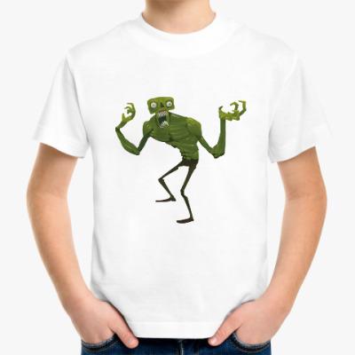 Детская футболка Зомби. Монстр. НЛО. Страшилка.