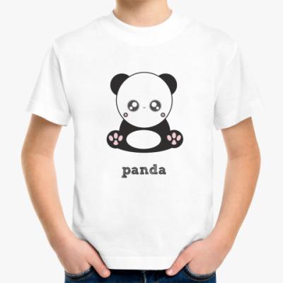 Детская футболка Детская футболка  Panda