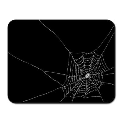 Коврик для мыши  паутина
