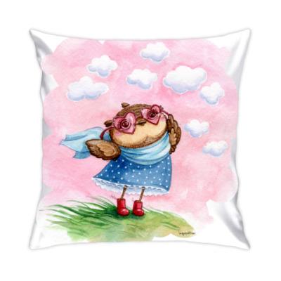 Подушка В розовых очках