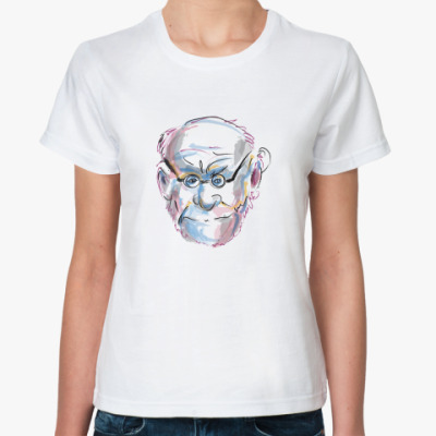 Классическая футболка  «Фрейд»»