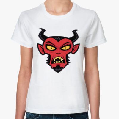 Классическая футболка Дьявол
