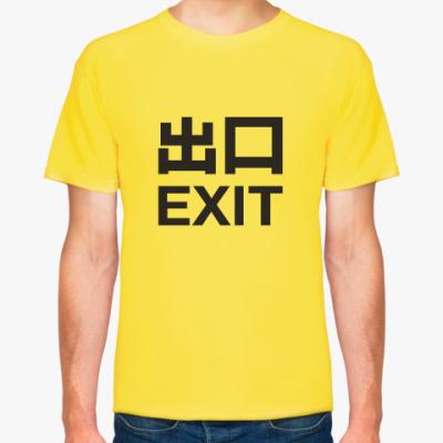 Футболка Exit Records