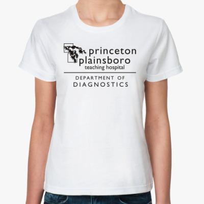 Классическая футболка  Princeton plainsboro