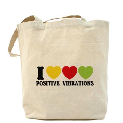 Сумка Люблю позитивные вибрации