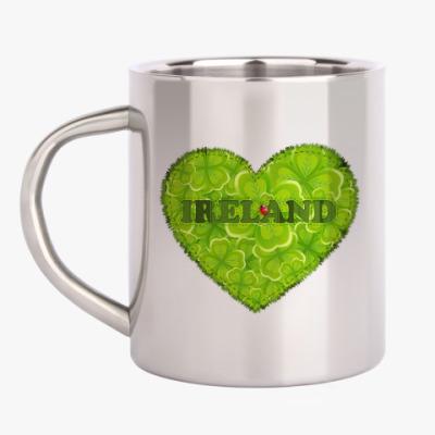 Кружка металлическая Love Ireland