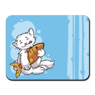 Коврик для мыши Кошачья Нежность
