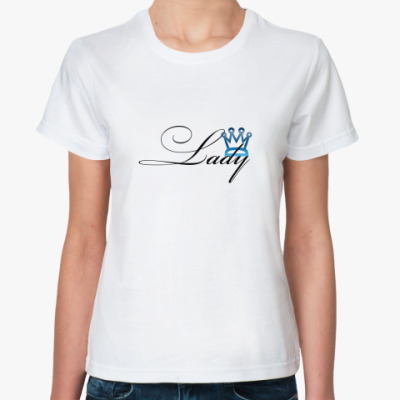 Классическая футболка Lady