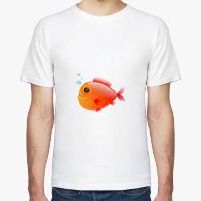 Футболка Довольная рыба