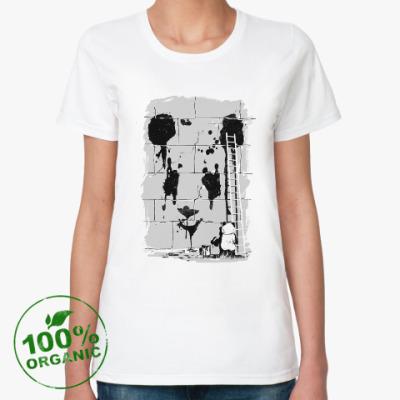 Женская футболка из органик-хлопка Пандализм