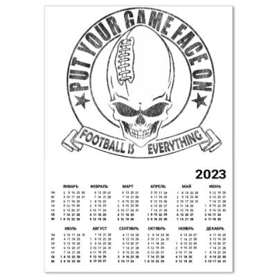 Календарь Американский футбол