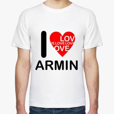 Футболка I Love Armin