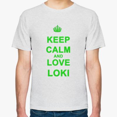 Футболка  Love Loki