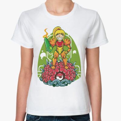 Классическая футболка Метроид