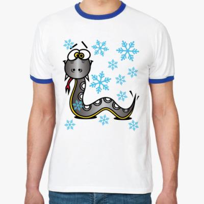 Футболка Ringer-T Змея