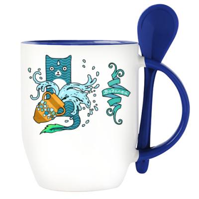 Гороскоп Водолей. Котик Aquarius.