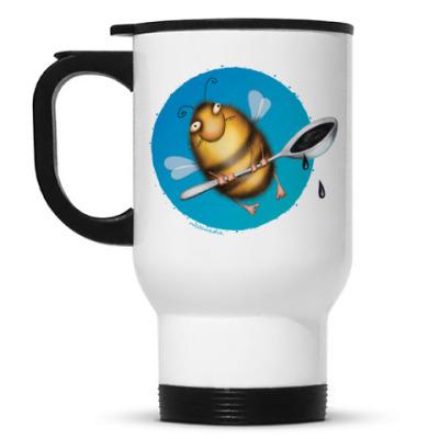 Кружка-термос Кружка- Пчела