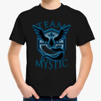 Детская футболка Pokemon GO (Team Mystic)
