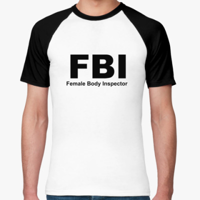 Футболка реглан FBI