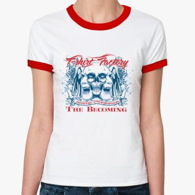 Женская футболка Ringer-T The Becoming