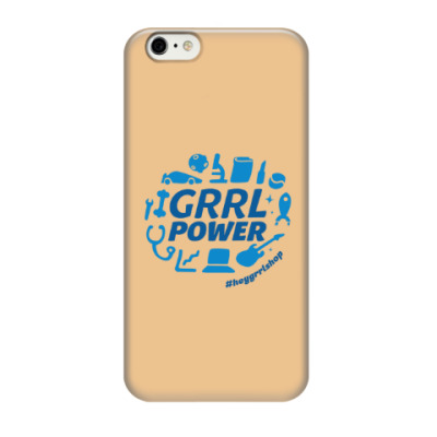 Grrl Power iPhone