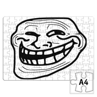 Пазл  Trollface