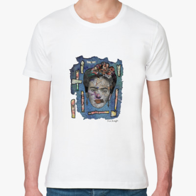 Футболка из органик-хлопка Портрет Фриды Кало