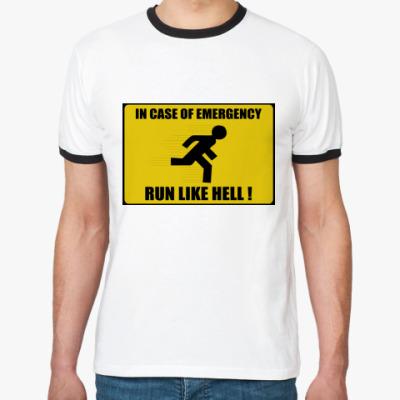 Футболка Ringer-T run