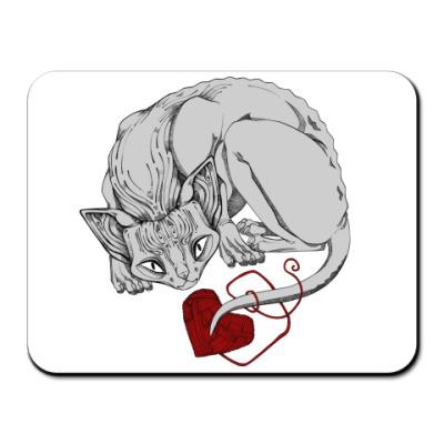 Коврик для мыши Любимый Сфинкс