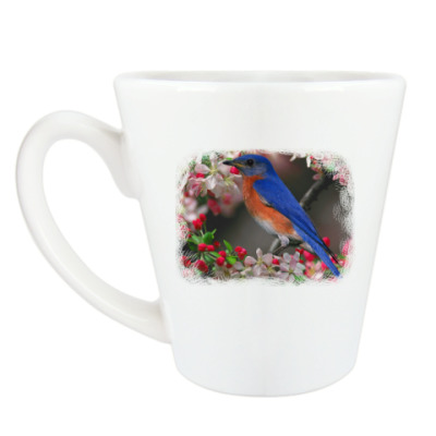 Чашка Латте птицы мира