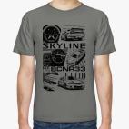 Классическая футболка Skyline GT-R R33