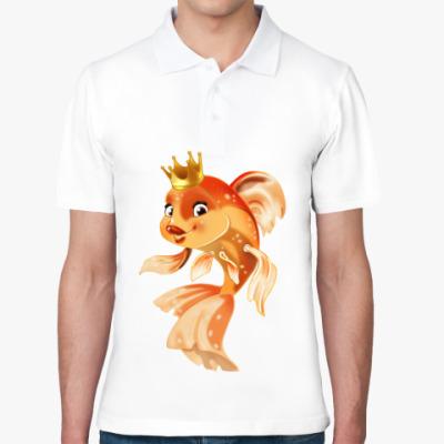 Рубашка поло Золотая рыбка
