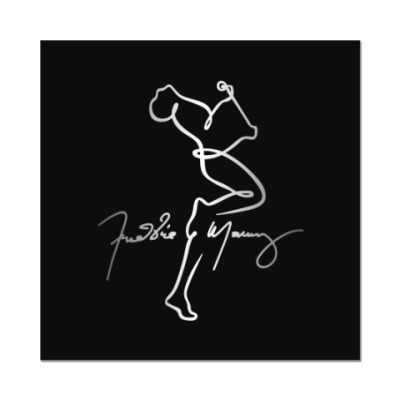 Наклейка (стикер) Freddie Mercury