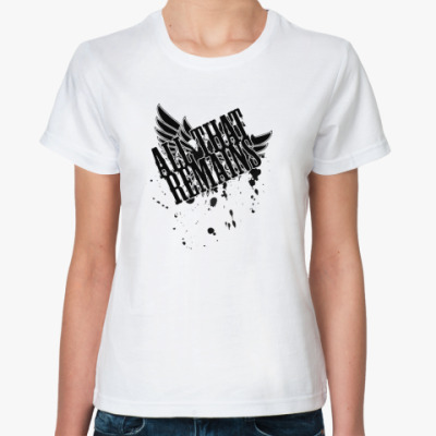 Классическая футболка All That Remains