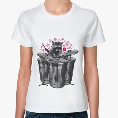 Классическая футболка Drummer