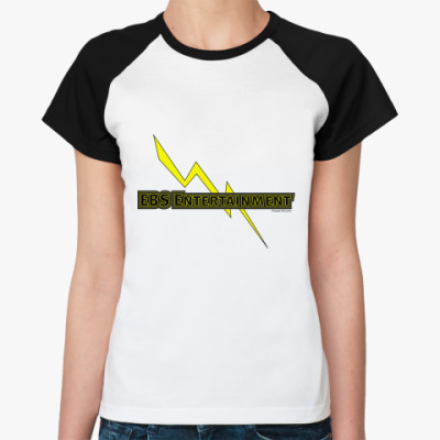 Женская футболка реглан EBS Entertaimment