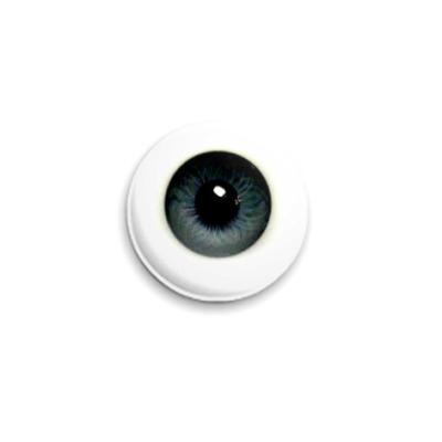 Значок 25мм  Глаз